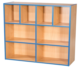 Three Tier Kubby - 4 + 2 + 2 Bookcase