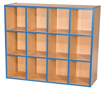 Three Tier Kubby - 4 + 4 + 4 Bookcase
