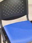 Fabric Seat Pad & Perforated Back