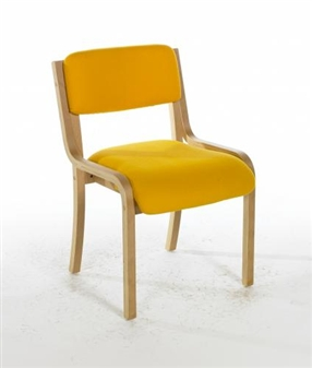 SPINX Light Beech Conference / Meeting Room Chair