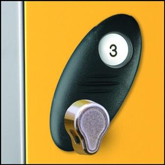Optional Hasp & Staple Lock Instead Of Disc Lock + 2 Keys