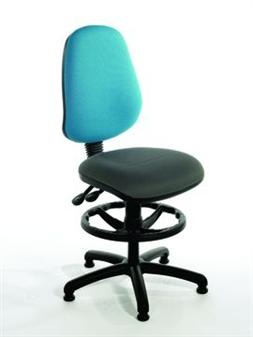 HIMPD High Back Draughtsman Chair - Vinyl