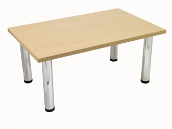 Light Oak Rectangular Coffee Table