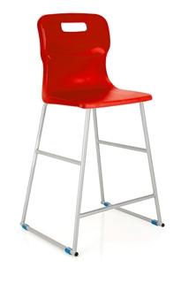 Titan High Chair - Red