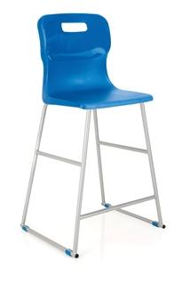 Titan High Chair - Blue