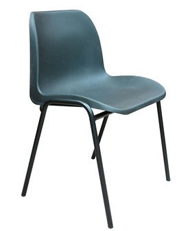 Hille General Purpose Economy Plastic Stacking Chair