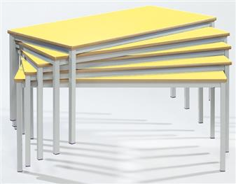 1200 x 600 Fully Welded Spiral Stacking Tables Stacked