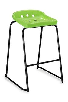 Hille Pepperpot Stool - Acid Green