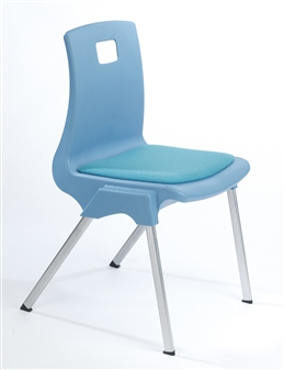ST Chair With Upholstered Seat Pad