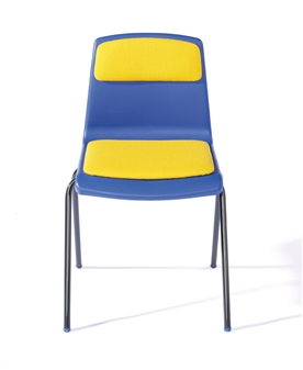 NP Chair With Upholstered Seat & Back Pad