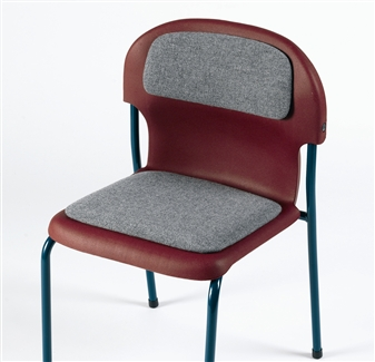 Chair 2000 With Upholstered Seat & Back Pads