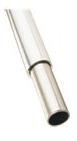 Strengthened Aluminium Clad Steel Leg