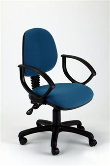 MIMPA Medium-Back Operator Chair With Fixed Arms
