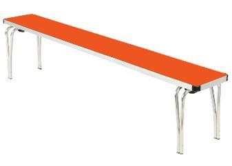 Gopak Contour Folding Bench - Storm Grey