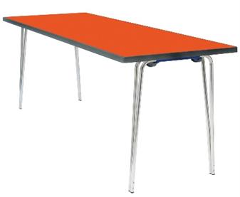 Premier Foldinng Table - Orange