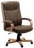 Brown Leather Executive Chair
