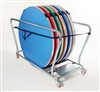 Gopak Round Folding Table Trolley