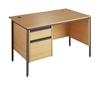 Budget Office Desk (B) With 1 Set Of Drawers