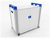 School Laptop Recharge Storage Trolley - Horizontal - 32 Laptops