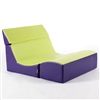 Double Seat Ergonomic Lounger