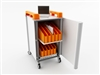 School Mini Laptop Recharge Storage Trolley - Vertical - 20 Mini Laptops