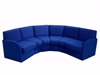 BRS Curve Box Reception Seating - Vinyl