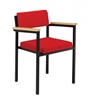 S25 Heavy Duty Stacking Armchair