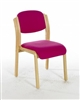 LISTON Beech Wooden Conference / Meeting Room Chair - Vinyl