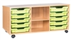 Premium 5 Tray & Shelf Storage Units