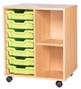 Premium 7 Tray & Shelf Units