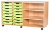 Premium 8 Tray & Shelf Units