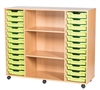 Premium 12 Tray & Shelf Unit