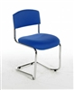 CS Vinyl Stacking Cantilever Reception / Meeting Chair