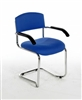 CSA Vinyl Stacking Cantilever Reception / Meeting Armchair