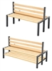 Cloakroom Seat Benches - Double Sided
