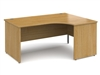 Contract Panel End Radial Desks