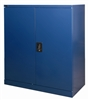 Half-Height Blue Stationery Storage Cupboard