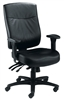 24hr Endurance Square-Back Task Chair - Leather