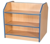 Double Sided Bookcases