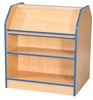 Double Sided Display Bookcases