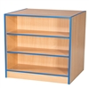Double Sided Flat Top Bookcases